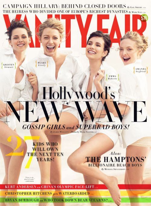 Vanity Fair Hollywood Issue Lacks Both Color And Newness