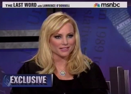 meghan mccain. Meghan McCain became the