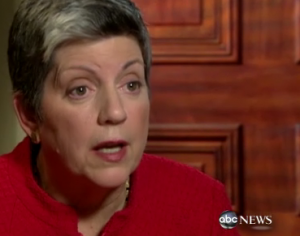 ... Diane Sawyer sat down with Homeland Security Secretary Janet Napolitano ...