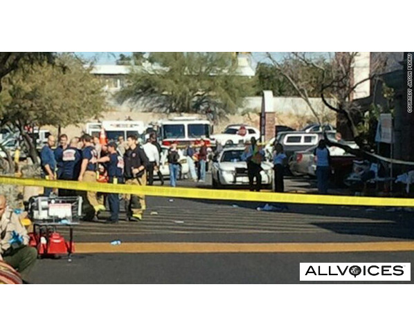 revealed that video footage exists of the Tucson, Arizona shooting that