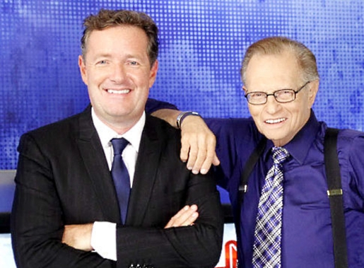 Former CNN headliner Larry King sat down with BBC radio yesterday and