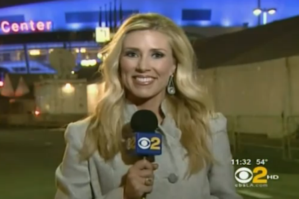 KTLA's Mary Beth McDade nearly attacked by man during live ...
