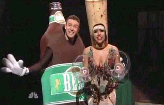 Lady Gaga on SNL | Justin Timberlake and Lady Gaga | Liquorville SNL ...