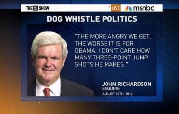 Ed Schultz | Newt Gingrich | Food Stamp racism