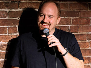 Louis Ck livin' it up on stage