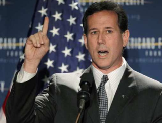 Santorum Gets Huffy About His Google Problem'