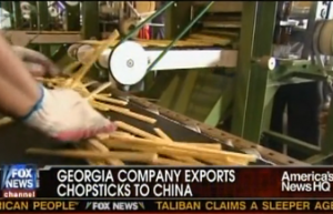 American made chopsticks