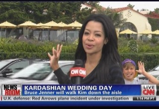 A CNN reporter unfortunate enough to have been sent to report live on ...