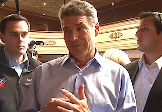 Rick Perry Tells Bisexual Teen Why He's Opposed To Gays In The Military: ...