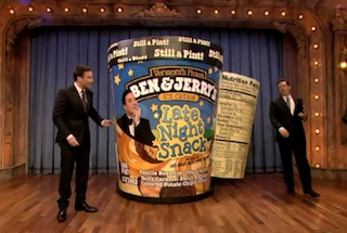 STEPHEN COLBERT Launches An Assault On Jimmy Fallon Using The Ol' Trojan Ice ...
