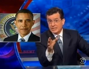 STEPHEN COLBERT Outraged Over Obama 'Forcing Priests To Hand Out Condoms At Mass'