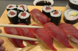 Yellowfin Tuna Sushi
