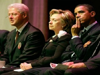 Obama and the Clintons
