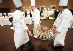 Prince Carl Philip Of Sweden Visits Bocuse d'Or Competition At Horecalife Convention