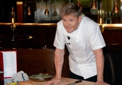 Gordon Ramsay Steak Opening News Conference