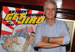 "Anthony Bourdain And Joel Rose ""Get Jiro!"" Book Launch Party"