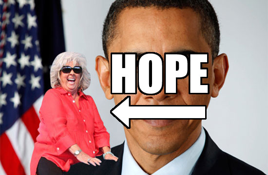 Image credit: Paula Deen Riding Things