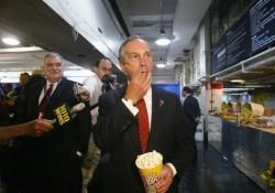 Mayor Bloomberg Tours RNC Media Center