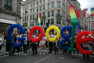 ... to support gay rights, another anti-gay group looking for a boycott.