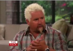 guy fieri on the talk