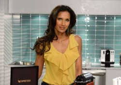 Padma Lakshmi Joins Luxury Coffee Brand Nespresso In NYC