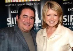 Martha Stewart Interviews Emeril Lagasse On Her SIRIUS Radio Channel, Martha Stewart Living Radio