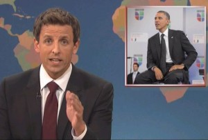 SNL Caught &#8220;Rounding Second&#8221; with Obama&#8211;World Shocked