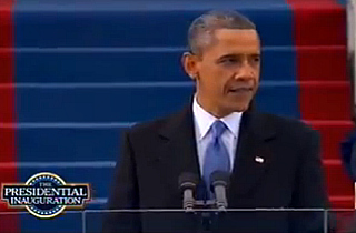 same sex marriage speech obama inauguration in Joliet