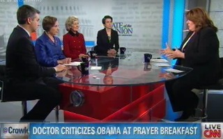 CNN Panel Asks If Dr. Benjamin Carson's Conservative Speech In Front Of Obama 'Offensive,' 'Inappropriate'? | Mediaite