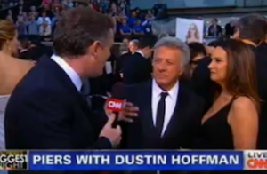 Red Carpet Politics: Dustin Hoffman Tells Piers Morgan 'God Bless You For What You're Doing About Gun Control' | Mediaite