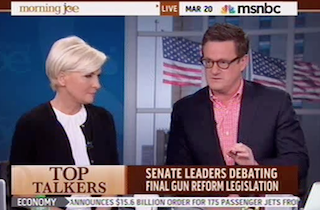 Morning Joe Spars Over Reid Dropping Assault Weapons Ban: Country Becoming 'More Progressive' On Guns | Mediaite