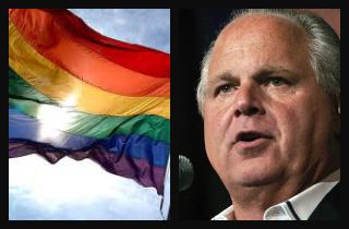 on gays Limbaugh