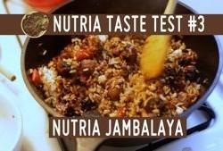 Nutria taste test