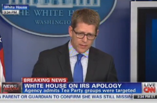 Carney Distances White House From 'Independent Agency' IRS's Targeting Of Conservative Groups | Mediaite