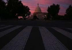 The Sun Rises Over Washington