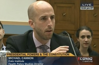 Cannon Obama's 'Ignoring Laws' Could Lead to Overthrow of Government