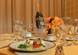 The Beverly Hilton Hosts The 71st Annual Golden Globe Awards Menu Preview