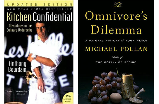 Today, Amazon.com Placed Kitchen Confidential And The Omnivoreu0027s Dilemma In  Its First Ever List Of U201c100 Books To Read In A Lifetime,u201d Alongside  Classics ...