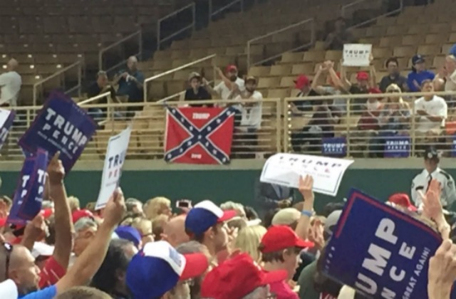 Someone Brought a Confederate Flag to Trump Florida Rally | Mediaite