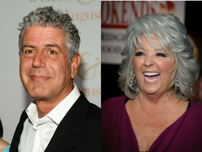 Anthony Bourdain vs Paula Deen