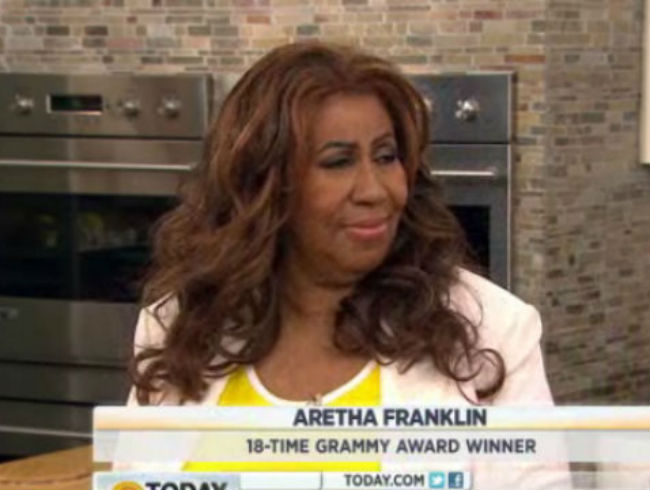 Aretha Franklin Goes Rogue On <em>The Today Show</em>