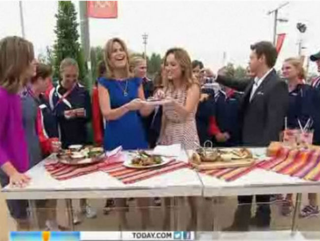 Savannah Guthrie Snubs Fergus Henderson's Blood Pudding
