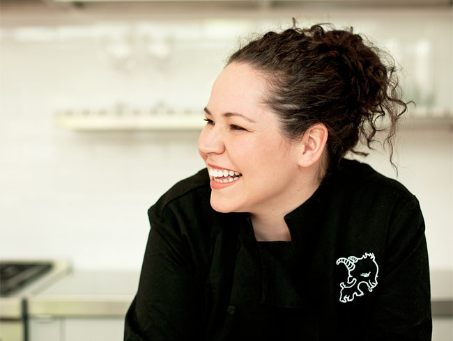 <strong>Stephanie Izard </strong>, The Girl and The Goat, Chicago