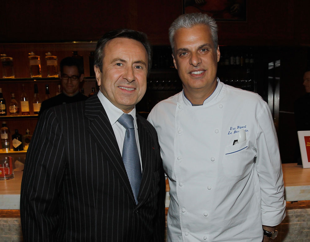 Daniel Boulud and Eric Ripert
