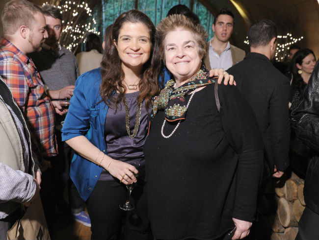 Alex and Mama Guarnaschelli