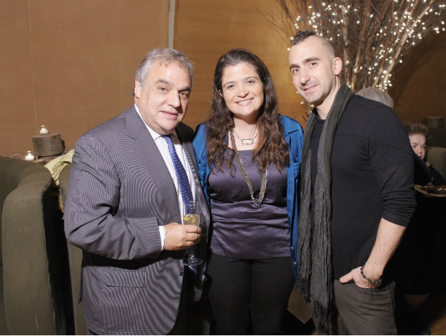 Lee Schrager, Alex Guarnaschelli, Marc Forgione