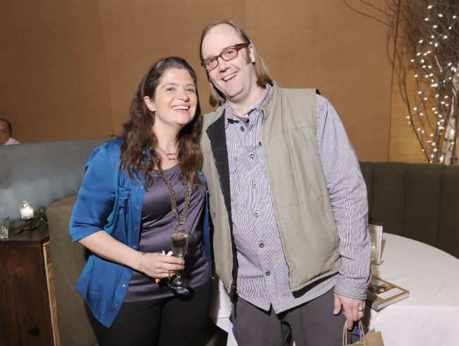 Alex Guarnaschelli and Wylie Dufresne