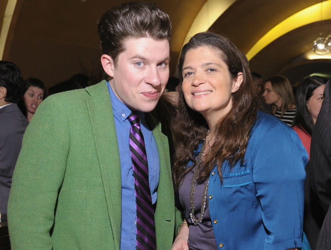 Justin Warner and Alex Guarnaschelli