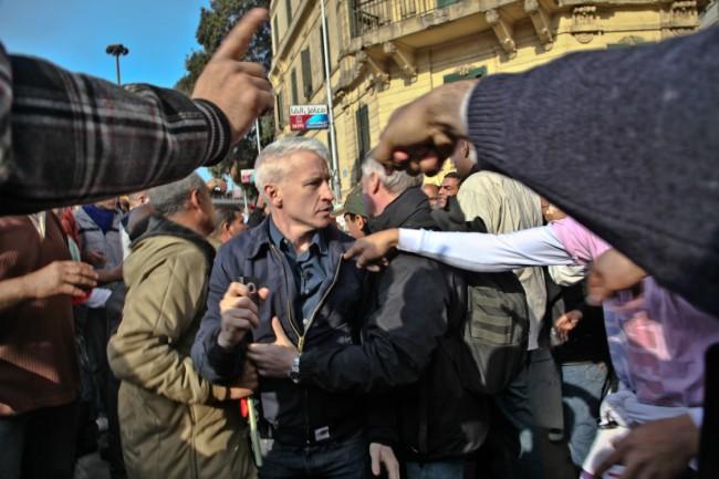 Anderson Cooper in Cairo 1 (1