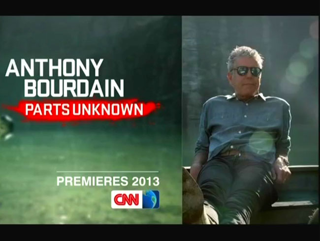 Anthony Bourdain Moves To CNN